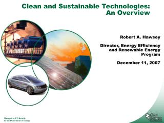 Clean and Sustainable Technologies: An Overview