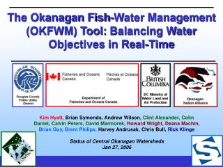 The Okanagan Fish-Water Management (OKFWM) Tool:  Balancing Water Objectives in Real-Time
