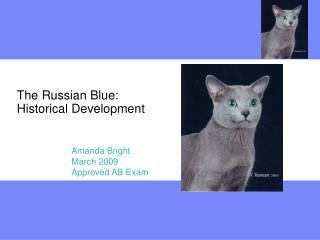 The Russian Blue: Historical Development