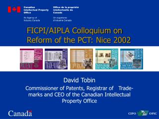FICPI/AIPLA Colloquium on Reform of the PCT: Nice 2002