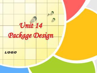 Unit 14 Package Design