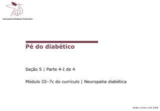 Pé do diabético