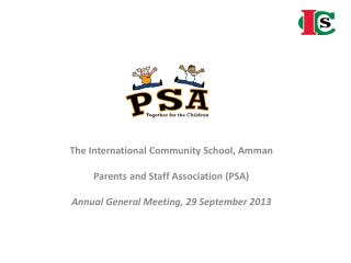 The International Community School, Amman Parents and Staff Association (PSA)
