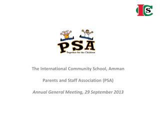 The International Community School, Amman Parents and Staff Association (PSA)