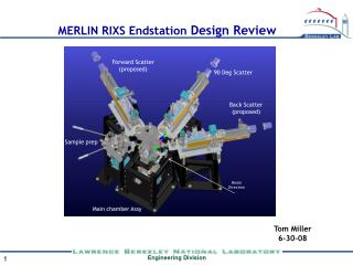 MERLIN RIXS Endstation  Design Review