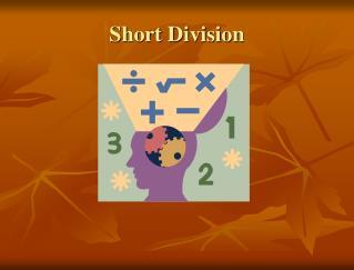 Short Division