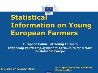 Statistical Information on Young European Farmers