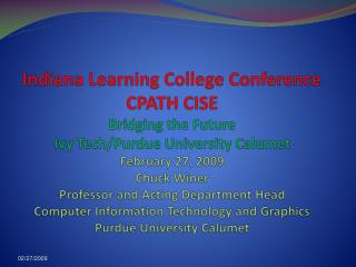 CISE CPATH  What is it?