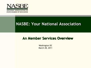 NASBE: Your National Association