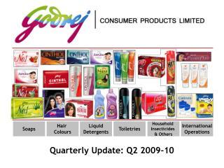 Quarterly Update: Q2 2009-10