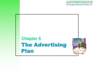 The Advertising Plan