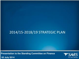 Presentation to the Standing Committee on Finance  02 July 2014