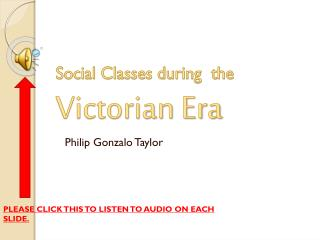 Social Classes during  the  Victorian Era