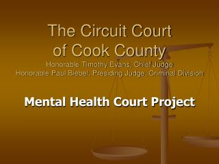 Mental Health Court Project
