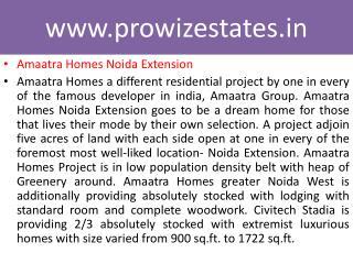 2-3 BR Apts Sec 10, Gr Noida, Starts at 25 Lacs Amaatra Home