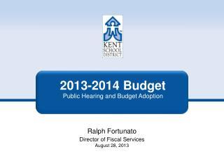 2013-2014 Budget