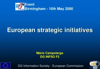 European strategic initiatives