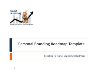 Personal Branding Roadmap Template