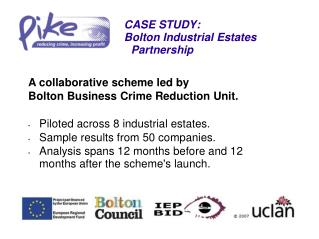 CASE STUDY: Bolton Industrial Estates Partnership