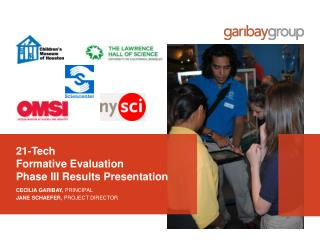 21-Tech  Formative Evaluation  Phase  III  Results Presentation