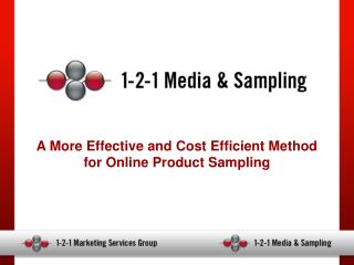 A More Effective and Cost Efficient Method for Online Product Sampling