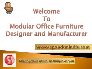 Modular Office Furniture Store in Vadodara, India