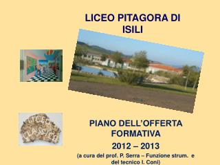 LICEO PITAGORA DI ISILI