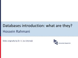 Databases introduction: what are they?