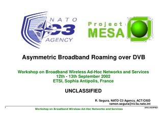 Asymmetric Broadband Roaming over DVB