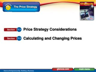 Identify factors that affect price strategy.