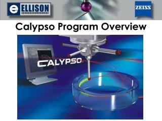 Calypso Program Overview