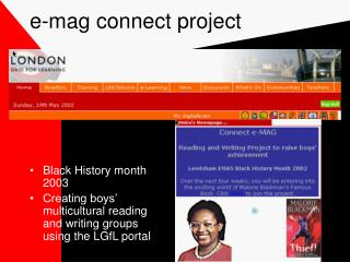 e-mag connect project