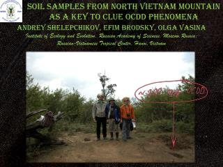 soil SAMPLES from north Vietnam Mountain As A Key to Clue OCDD  PheNOmEna