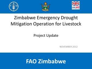 Zimbabwe Emergency Drought Mitigation Operation for Livestock Project Update