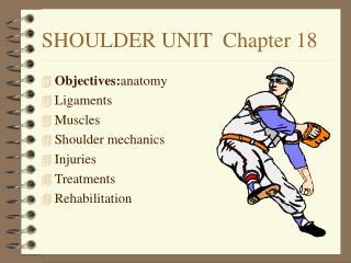 SHOULDER UNIT  Chapter 18