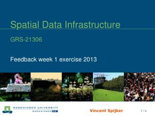 Spatial Data Infrastructure GRS-21306