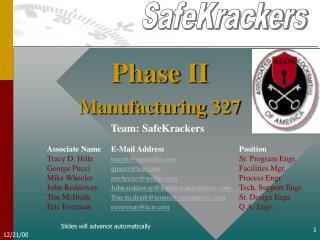 Manufacturing 327