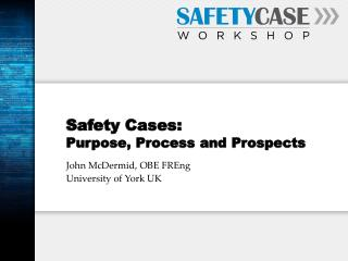 Safety Cases:  Purpose, Process and Prospects
