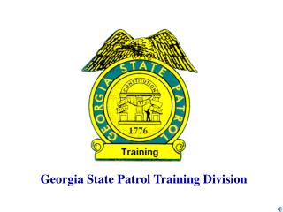 Georgia State Patrol Training Division