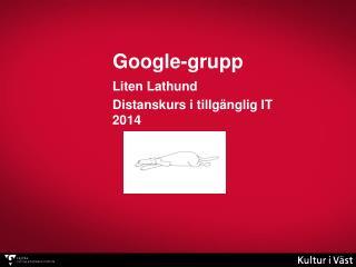 Google-grupp