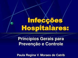 Infecções Hospitalares: