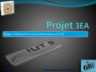 Projet  3EA