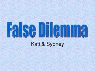 Kati & Sydney