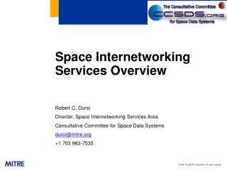 Space Internetworking Services Overview