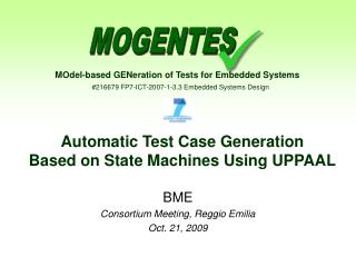 Automatic Test Case Generation Based on State Machines  Using UPPAAL