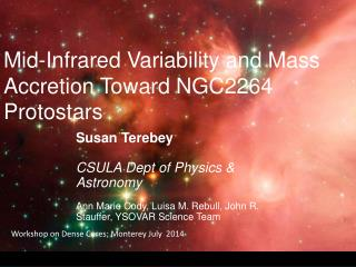 Mid-Infrared Variability and Mass Accretion Toward NGC2264   Protostars