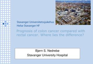 Prognosis of colon cancer compared with rectal cancer. Where lies the difference?