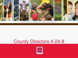 County Directors 4-24-8