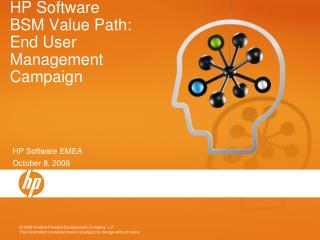 HP Software  BSM Value Path: End User Management Campaign