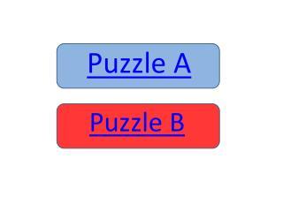 Puzzle A